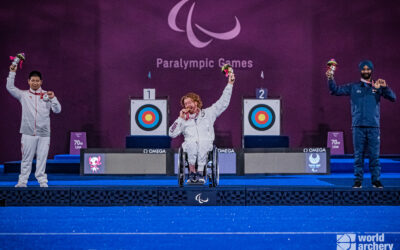 Kevin Mather wins recurve men's Paralympic title